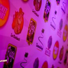 Clochard party shot photowall