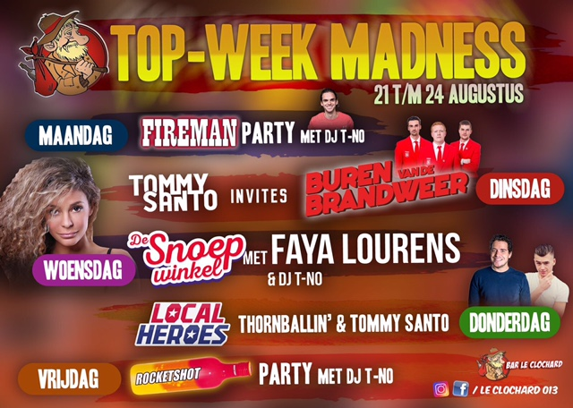 TOP Week Madness